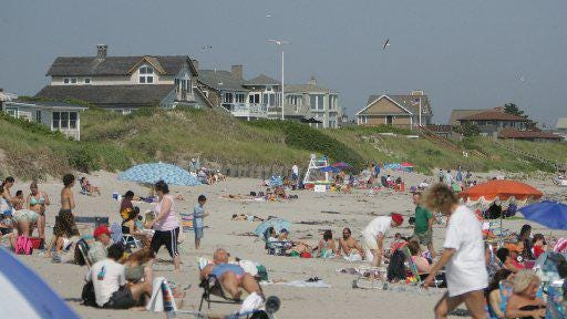 Crowds at state beaches such as Salty Brine will be limited on busy days this summer to comply with social distancing during the coronavirus pandemic.