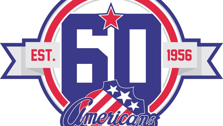 The Amerks 60th anniversary logo for the upcoming season.