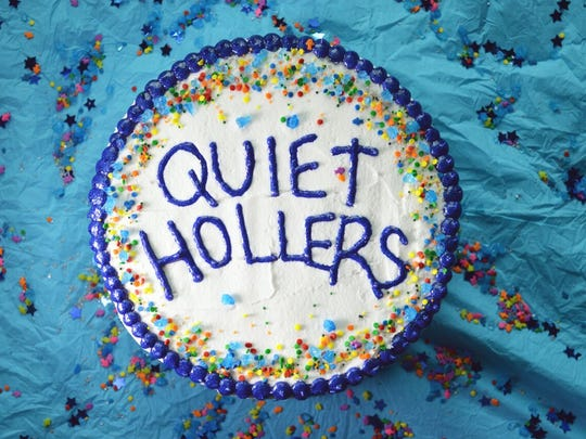 "The cover of the new Quiet Hollers album ""Quiet Hollers."""
