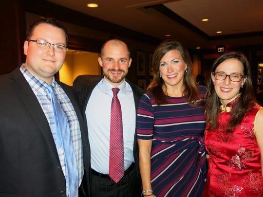 Dr. Matt Hefner, Christopher Storey, Dr. Christina