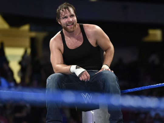 Dean Ambrose is among the wrestlers headed for Knoxville on Jan. 12 for WWE Live!