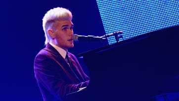 Colton Dixon performs at the 2nd Annual KLOVE Fan Awards at the Grand Ole Opry House on June 1, 2014, in Nashville.