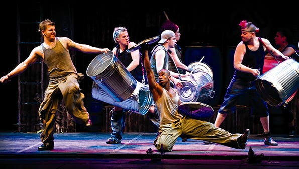 STOMP is coming to the Spencer Theater in Alto.