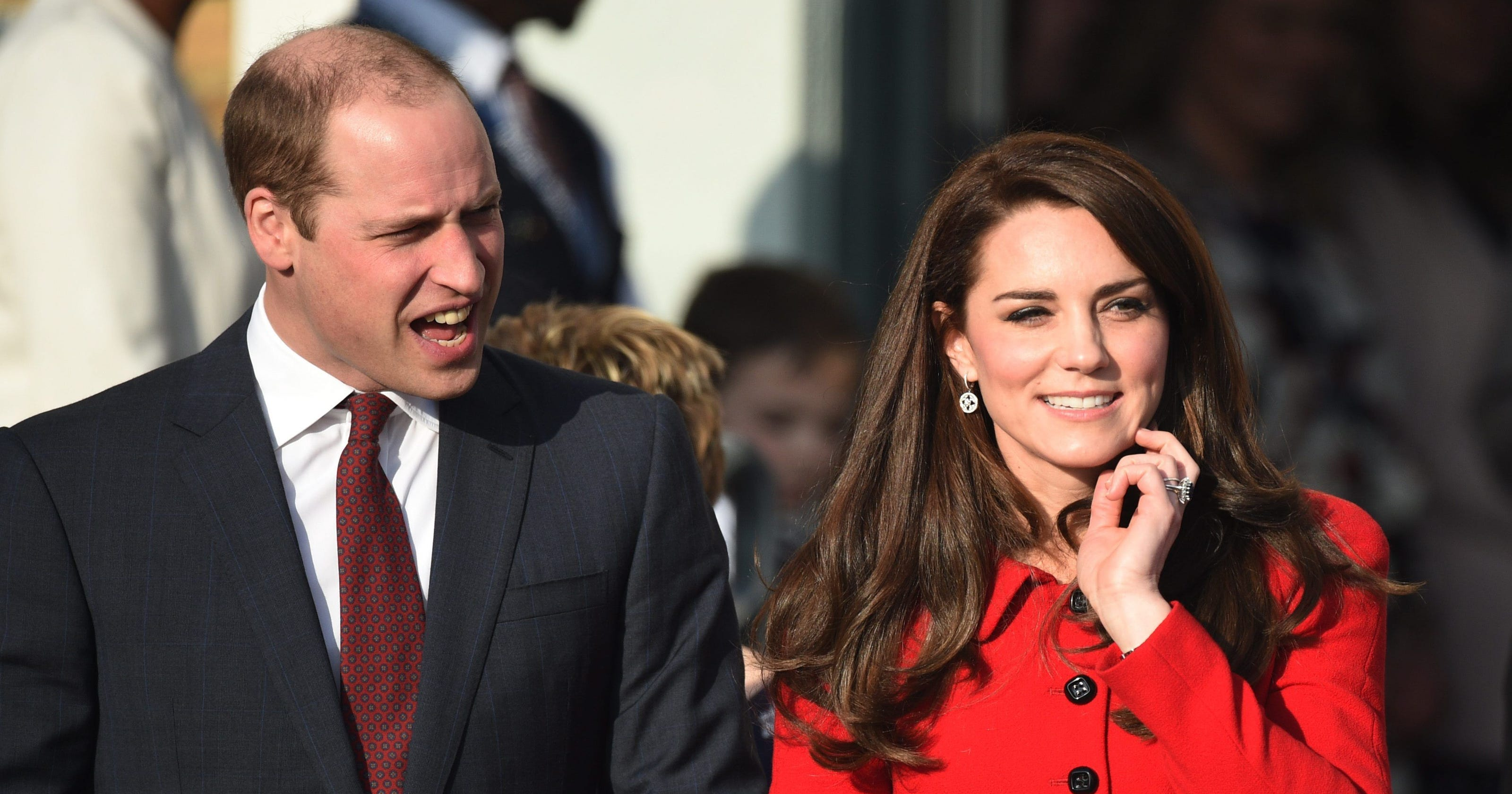 Duchess Kate In A Familiar Skirt Suit Praises Her Middle Class