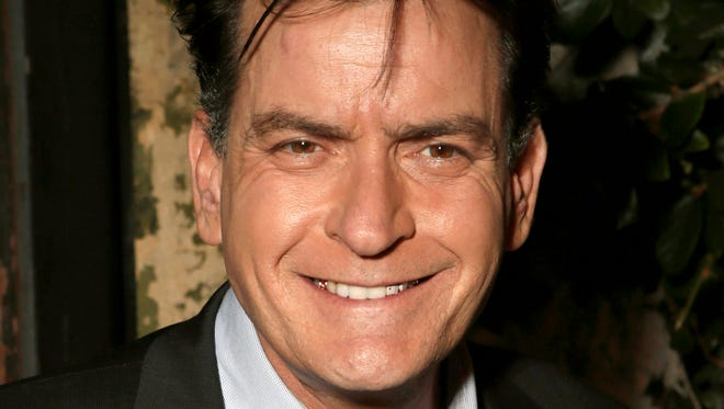 Charlie Sheen in 2012