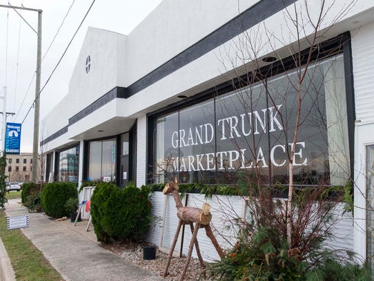 The Grand Trunk Marketplace, located at 1201 4th St.