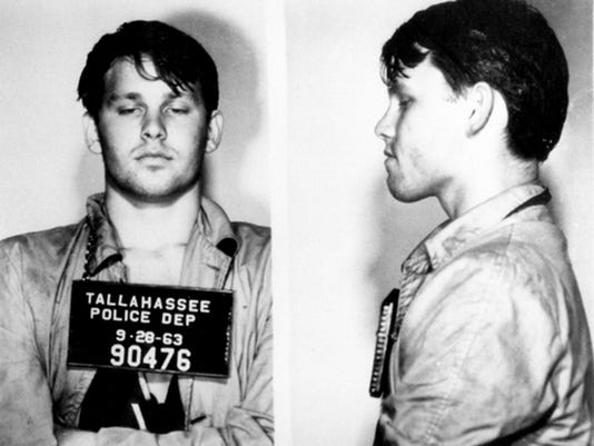 Jim Morrison jail mug shot