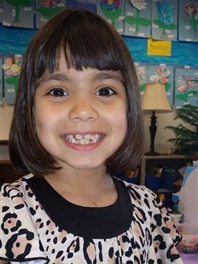 This undated photo provided by the FBI shows Jenise Paulette Wright. More than 100 officers from 10 law enforcement agencies are involved in the search for 6-year-old Jenise, who disappeared from her Washington state home over the weekend, sheriff's officials said Tuesday, Aug. 5, 2014. (AP Photo/FBI)