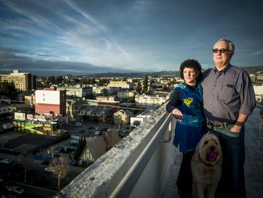 Husband-wife team Mitch Kapor and Freada Kapor Klein