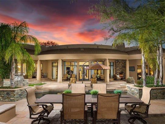 Diamondbacks CEO Derrick Hall's Paradise Valley home