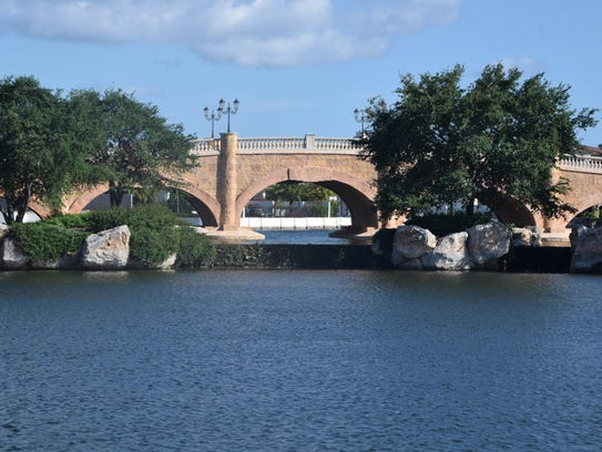 Talis Park looks like a town in Italy with its bridges,