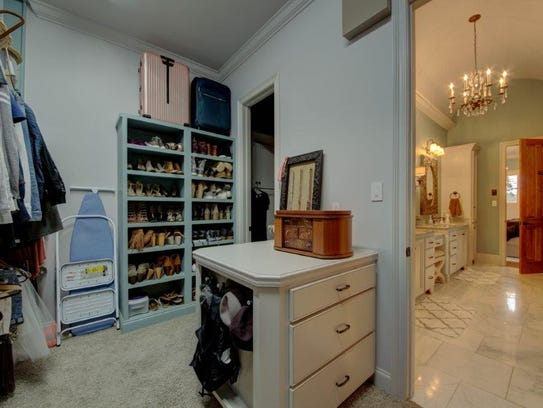 There are large closets in all of the bedrooms.