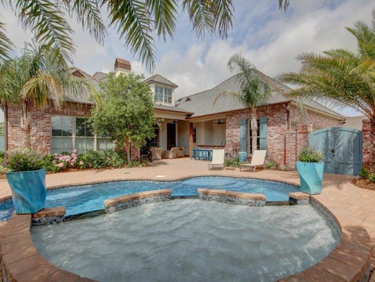 There is a fabulous pool with plenty of space for entertaining.