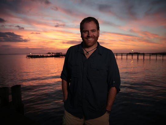 "Josh Gates, host of The Travel Channel's ""Expedition"