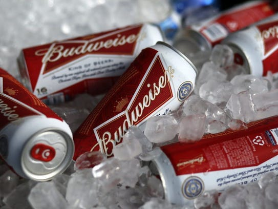 Beer is the most popular Super Bowl drink.