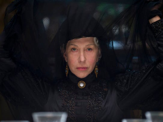 "Helen Mirren stars in ""Winchester."" Mirren says her"