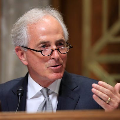 Sen. Bob Corker says he had no role in tax-bill provision that could potentially benefit him financially