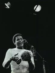 Milwaukee native Al Jarreau, a seven-time Grammy winner, headlined Summerfest's Main Stage in 1982.