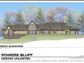 Plans for the multi-use shelter at Powers Bluff County