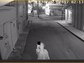 Surveillance image of a man believed to have vandalized