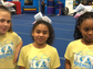 MCS Competition Cheer Team members talking about the