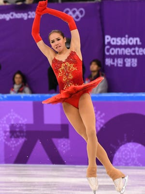 Medal favorite Alina Zagitova of Russia backloads her program with jumps which has sparked some criticism.