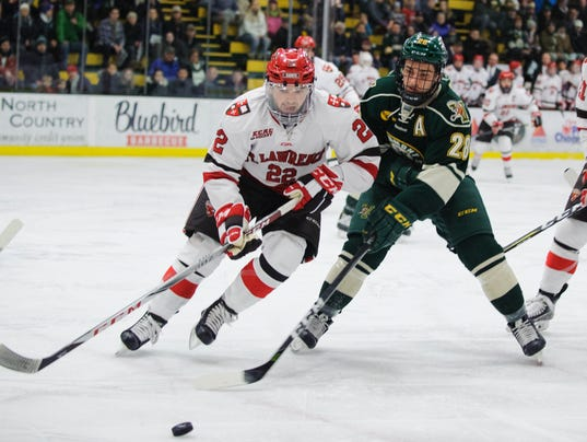 St. Lawrence vs. Vermont Men's Hockey 12/29/17