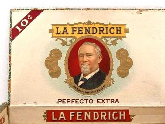 A La Fendrich cigar box.