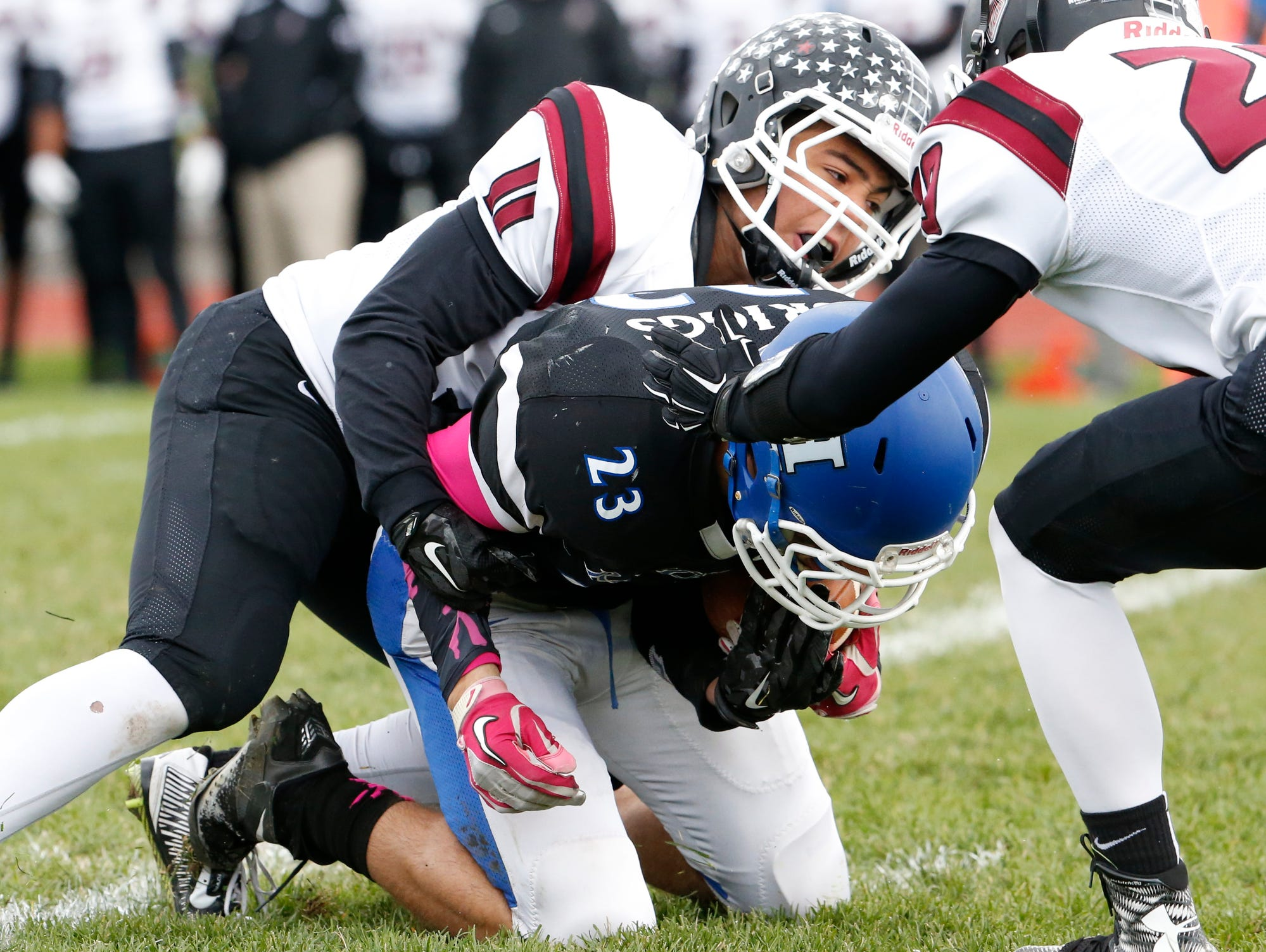 The Horseheads Blue Raiders hosted the Elmira Express Saturday.