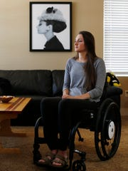 Mackenzie Wollenzien of West Des Moines says her thoughts are with the family of a University of Iowa freshman who died while attending a fraternity formal over the weekend. Wollenzien was paralyzed during a similar fraternity formal one year ago. Tuesday, May 2, 2017
