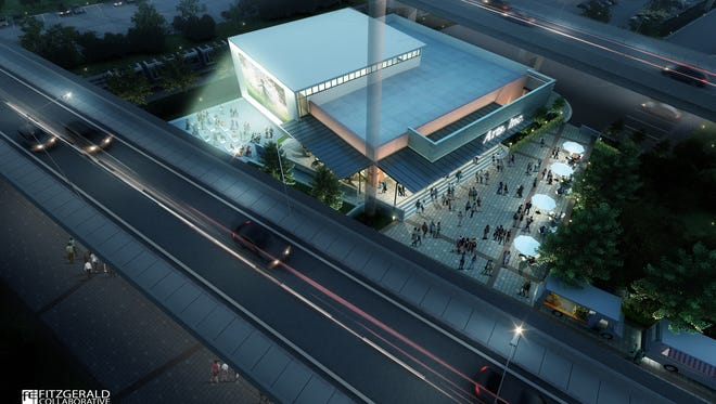 A rendering of what the TLH Arts Inc. project would look like.