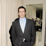"""John Hamm attends the celebration for Robert Duvall and Thomas Haden Church's Golden Globe Nomination for """"Broken Trail"""" on  January 14, 2007 on the Terrace at The Sunset Tower Hotel in West Hollywood, California."""