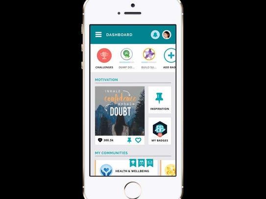 The Building Brave app establishes a community for