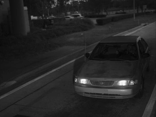 Turnpike surveillance footage reportedly showing Larry