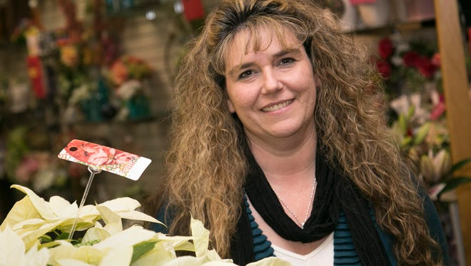 Tara Beaire is the owner of Tara's Floral Expressions on Park Ave. West. She plans on moving her business to the Carousel District on West Forth Street in Mansfield around the first of the new year.