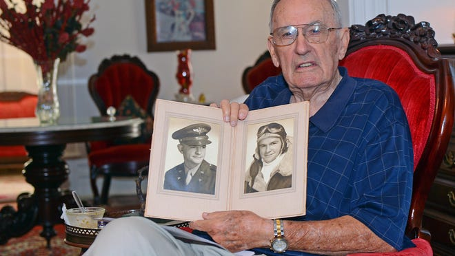 Bob Mitchell talks about his brother, 2nd Lt. Henry Don Mitchell, a WWII P-38 pilot listed as MIA on July 8, 1944 after crashing in Austria.