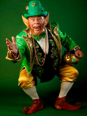 Rocky the Leprechaun will be leading the 35th annual St. Patrick's Day Parade as the Grand Marshal on this Saturday.