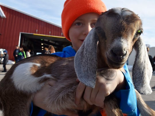"Chrisholm Historic Farmstead hosts ""Farm Goat Jamboree"" this Sunday in Trenton."