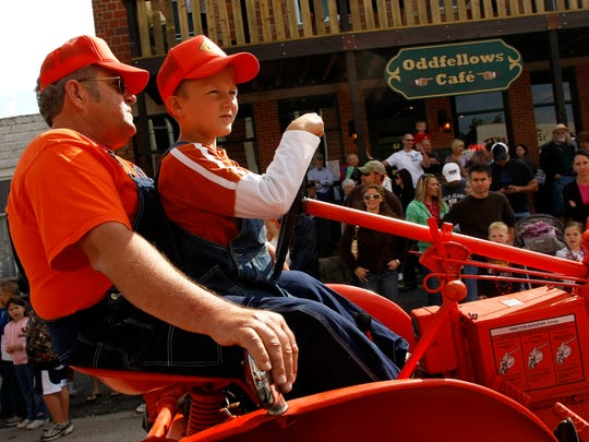 An old-fashioned parade will kick off the Fair Grove Heritage Reunion festival.