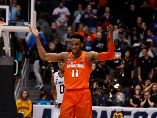March Madness: Syracuse Outlasts Arizona State In First Four