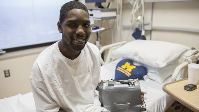Stan Larkin, recipient of Total Artificial Heart