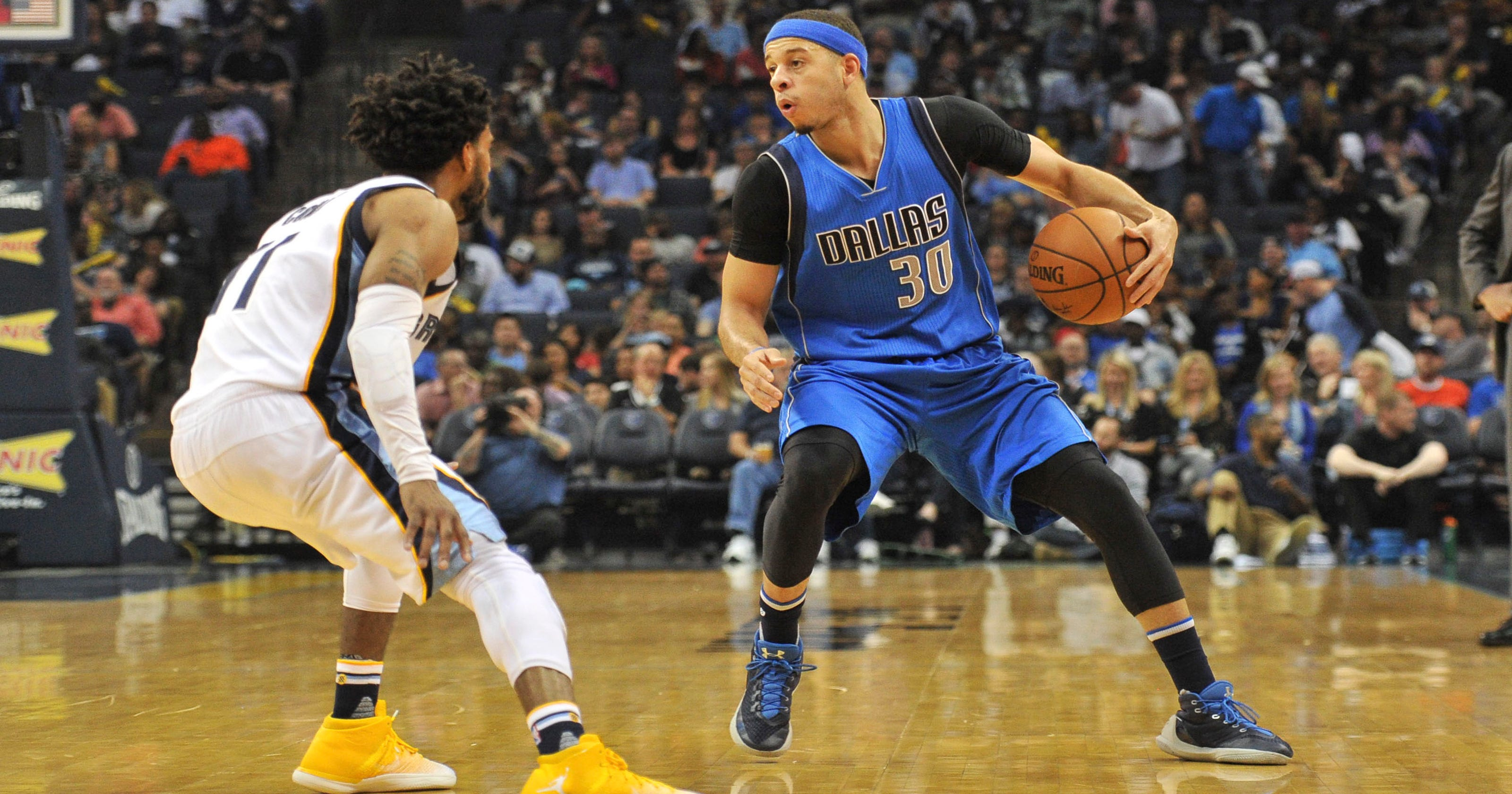 6e79d341fbed Dallas Mavericks  Seth Curry out indefinitely with left leg injury