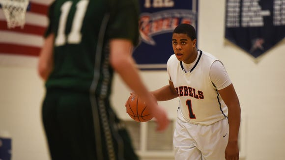 Kevin Gibbs (1) and Saddle River Day posted a key victory Thursday over Cresskill to remain alone atop the NJIC Patriot Division.