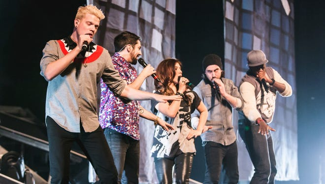Star a cappella act Pentatonix plays the Wisconsin State Fair's main stage Aug. 8.