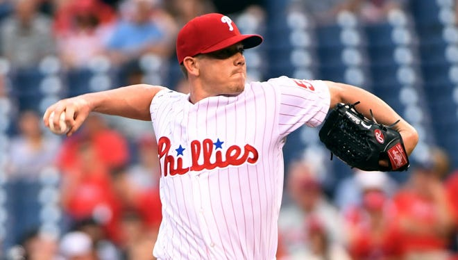 Pitcher Jeremy Hellickson has been traded to the Baltimore Orioles.