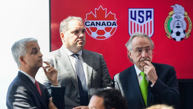 Canada, Mexico and the U.S. are jointly bidding for the 2026 World Cup, and Cincinnati could host some of the games.