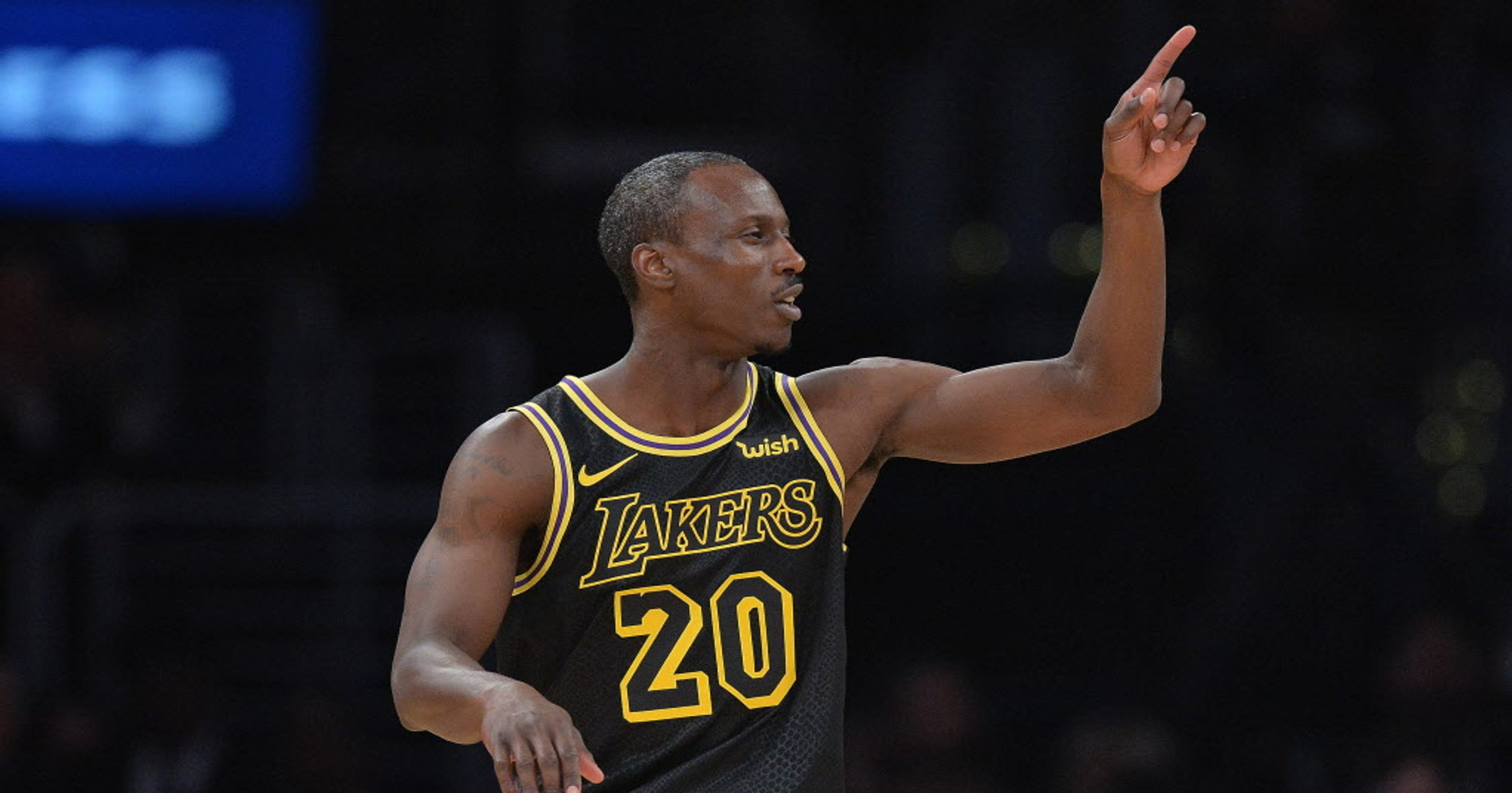 hot sale online be5b8 4d617 Andre Ingram, veteran of G League, shines in debut with Lakers