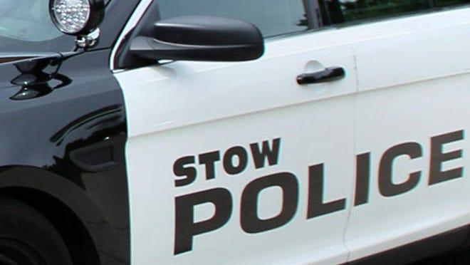 A Stow police cruiser.