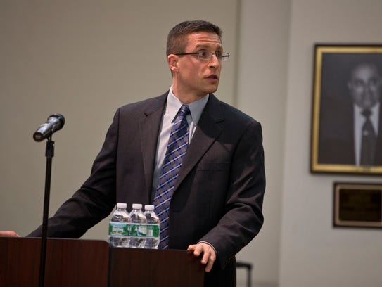 Toms River Assistant Township Attorney Anthony Merlino.