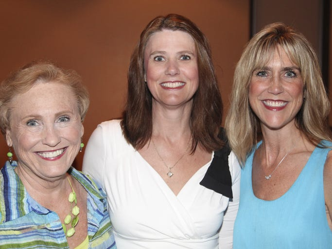 Seen at the DeltaStyle Best of the Delta awards were Cindy Rogers, Kristin Wolkart and Aimee Kane.